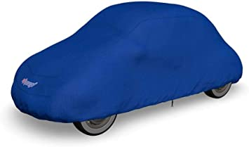 Softgarage Slim Fit 3 Lagig Blau Indoor Outdoor Atmungsaktiv Wasserabweisend Car Cover Auto