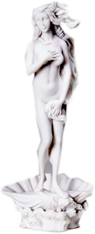 PTC 10 Inch Birth of Venus Greek Inspired Replica Marble Statue Figurine
