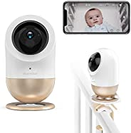 ebemate Bella Smart Baby Monitor Camera and Mutifunctional Base, AI Alert System for Covered Face, Temperature