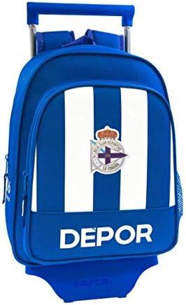 Deportivo La Coruña - Mochila Safta Infantil de con Carro Safta ...
