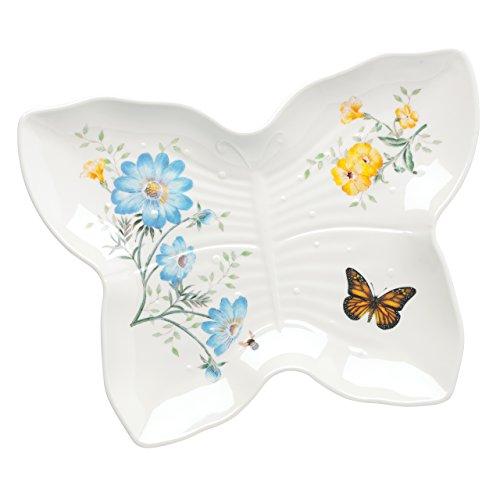 Lenox 865998 Butterfly Meadow Melamine Butterfly Tray, Large, Multicolor