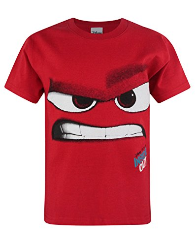 Disney Official Childrens/Kids Inside Out Anger T-Shirt (3-4