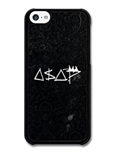 diy phone caseAMAF ? Accessories ASAP Rocky Black and White Logo case for iphone 5/5sdiy phone case