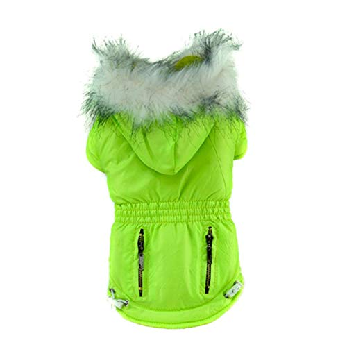 Winter Dog Jacket Dog Coats Pet Small Dog Puppy Hoodie, used for sale  Delivered anywhere in Canada
