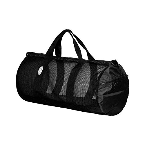 Stahlsac by Bare 26'' Mesh Duffel Bag (Black) by Stahlsac