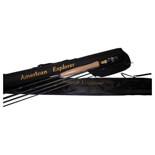 4 Piece Fly Rod With Case by American Explorer Brand