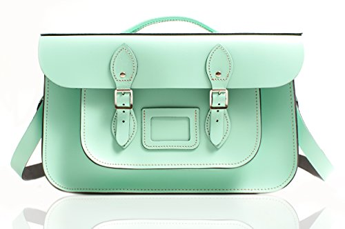 Oxbridge Satchel's - Bolso estilo cartera para mujer Mint