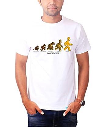 The Banyan Tee Homer Sapien Evolution The Simpsons Shirt By