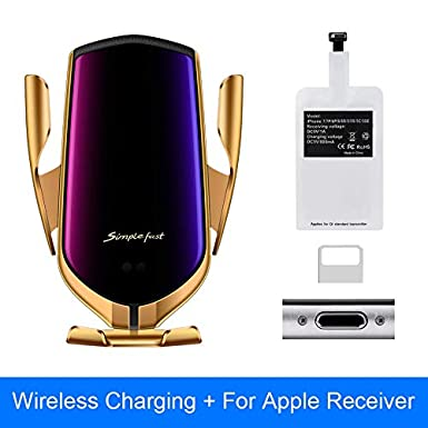 10W Car Mount R1 Wireless Charger