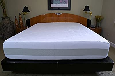 Sleep Right No Bite Water Proof Fitted Mattress Cover, Full, Off White
