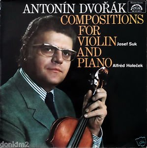 ANTONIN DVORAK: COMPOSITIONS FOR VIOLIN AND PIANO ~ SONATA IN F MAJOR, OP. 57 ~ ROMANTIC PIECES, OP. 75 ~ SONATINA IN G MAJOR, OP. 100 ~ SUPRAPHON MASTERS SERIES MS 111 1311/2 - 79 min.