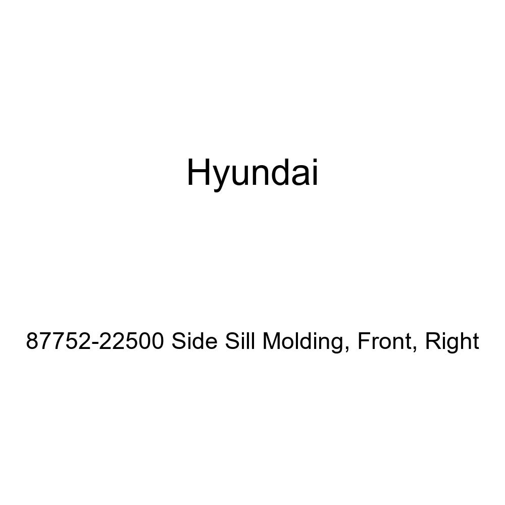 Right Front Genuine Hyundai 87752-22500 Side Sill Molding