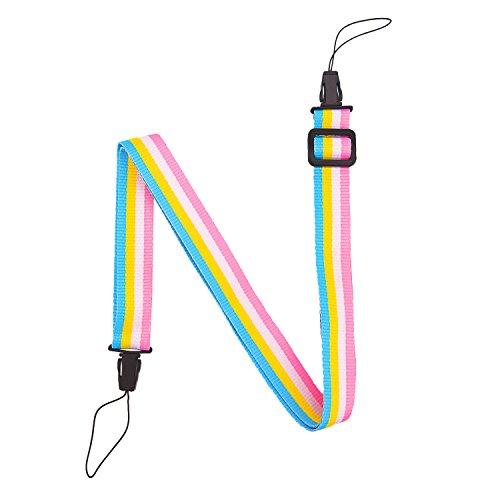 Sunmns Rainbow Camera Neck Shoulder Strap for Fujifilm Insta