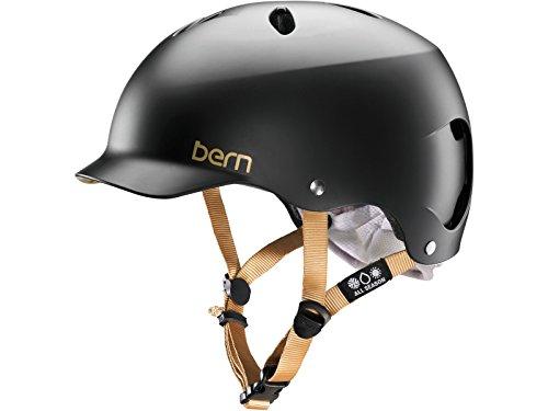 Cheap Bern Unlimited Lenox EPS Summer Helmet, Satin Black, X-Small/Small