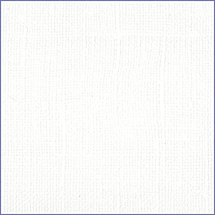 Bazzill White 12x12 Textured Cardstock 80 Lb White Scrapbook Paper Premium Card Making And Paper Crafting Supplies 25 Sheets Per Pack