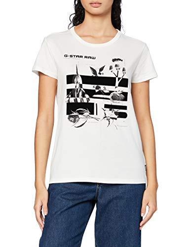 G-Star Raw Logo Thistle Graphic Gyre Straight dames t-shirt