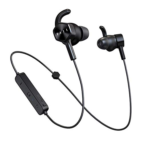 Wireless Headphones Bluetooth, FIIL Bluetooth Earphones 5.0, 12H Playtime with Quick Charge, IP65 Waterproof Dust-Proof, Noise Cancelling Wireless Earbuds for Running Gym Workout