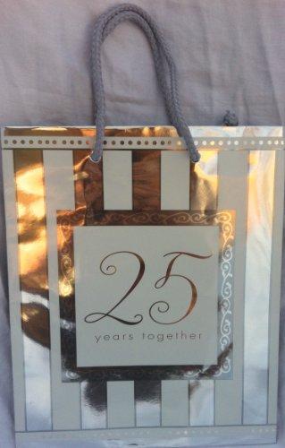25 Years Together Medium Gift Bag (Playskool Spongebob)