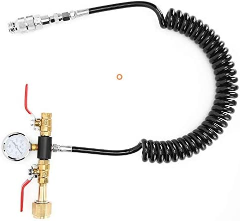 Tuyau de soda CO2, tuyau de CO2 anti-vieillissement, étanchéité de haute qualité avec kit d'appareil de mesure Accueil pour l'usine d'eau de soude Soda Stream