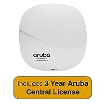 Aruba Networks IAP-335 NBase-T Access Point, 802.11n/ac, 4x4 MU-MIMO, Dual Radio with 3 Year Aruba Central License