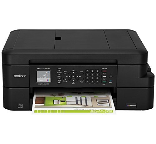 Brother MFC-J775DW INKvestment Compact Color Inkjet All-in-One Multifunction Printer, Amazon Dash Replenishment Enabled