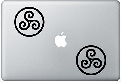 Merlin-Inspired Druid Triskele Symbol ArcDecals78602307 Set