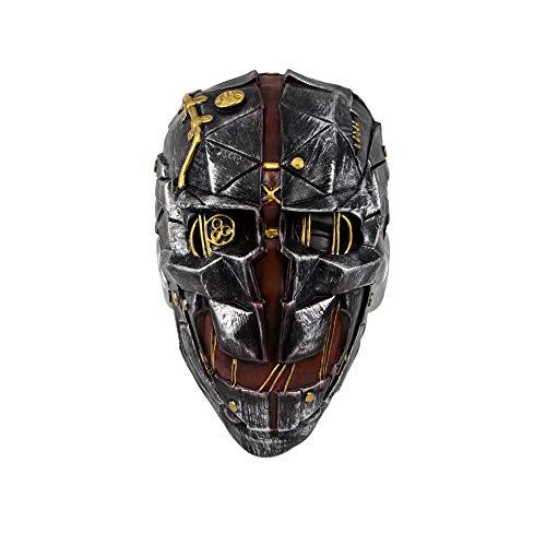 Dishonored 2 Cosplay,Dishonored 2 Mask, Corvo Attano Cosplay,Corvo Attano Masks Halloween Props for Unisex -