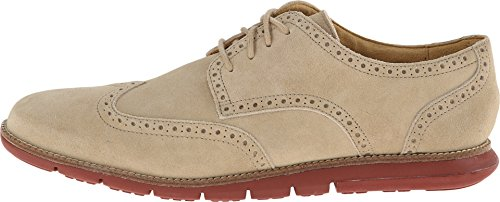 Cole Haan Grandsprint Vinge Ii Mens Oxfords Milkshake Mocka / Tegel