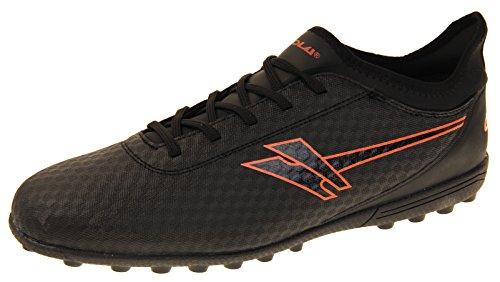 Gola AMA630 Rey VX Black and Orange Astroturf Soccer Boots 9 D(M) US