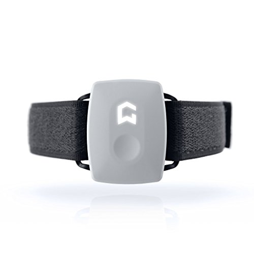 Ultimate Fitness Exercise Tracker Watch That Monitors All Workout and Sports Activity - by GYMWATCH (Cool White)