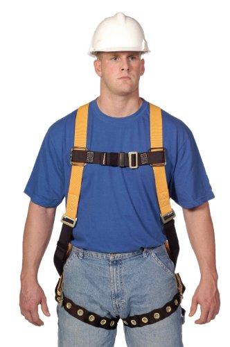 Miller Titan by Honeywell TF4500/S/MAK Polyester T-Flex Stretchable Harness, Small/Medium