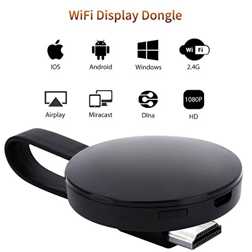 [CE ROSH Certificated] WIFI Display Dongle, ATETION 2018 WiFi Wireless...