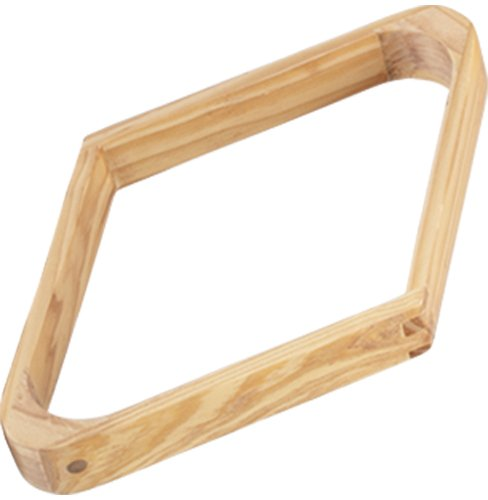 Wooden 9 Ball Diamond (Wood 9-Ball Diamond Rack)