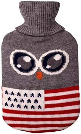 Drop Shipping Knit Hot Water Bottle Bag Cover for Hot Water Bottle Hot-Water Bags Anti-scalding Cover Warming Hand Warmer@I