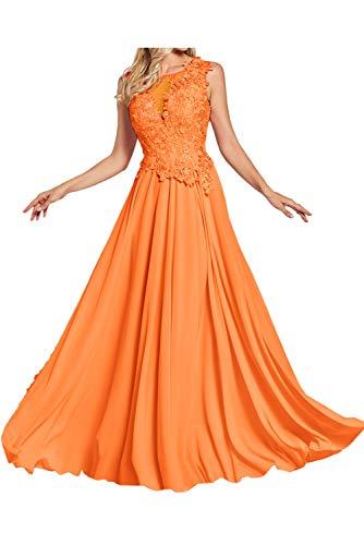 Topkleider - Vestido - Trapecio o Corte en A - para Mujer Naranja 48