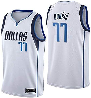 OLIS Hombre Ropa de Baloncesto NBA Dallas Mavericks 77 Doncic ...