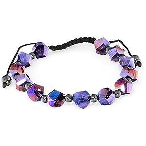 Unique Aurora Shamballa Bracelet Unisex