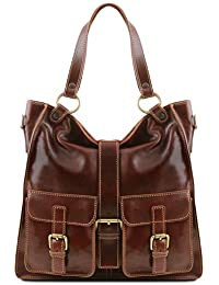 Melissa Lady leather bag Brown