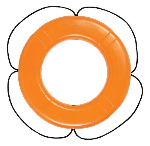Taylor Made Products 570 USCG Polyethylene Foam Life Ring (30'', Orange) by Taylor Made Products