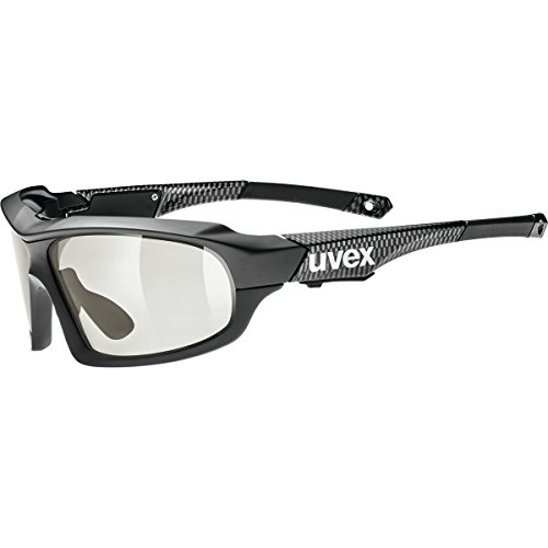 Uvex Variotronic FF Sunglasses Black, One Size - - Photochromic Sunglasses Uvex