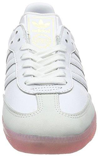 easy Pink footwear Samba White Blanc Femme Adidas footwear Basses White HvRqzO