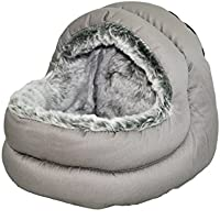 Rosewood Snuggles Two-Way Hooded Bed