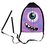 Lanhui Flying Toys Finger Shooting Kite For Kids Outdoor Yard Games and Activities Memorable Summer Fun toy (purple, 21.71.533cm)
