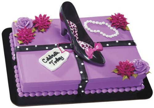 Favorite High Heels DecoSet Cake Decoration (High Heel Birthday Decorations)