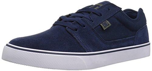 DC Shoes Tonik Shoe d0302905–Scarpe in Pelle Scamosciata per Uomo Marino