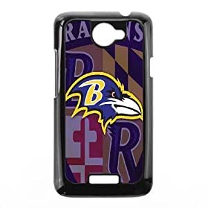 HTC One X Phone Case Black Baltimore Ravens VBN7163436