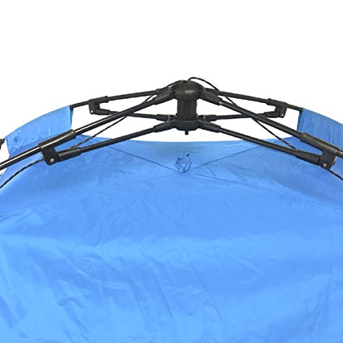 (EasyGO Sports Shelter – 2 Person Weather Tent Pod (Blue) – Patents)
