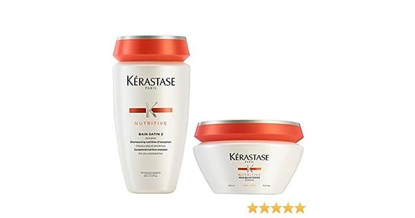 Kérastasase - Lavabo de baño (250 ml, para cabello grueso), 200 ml ...