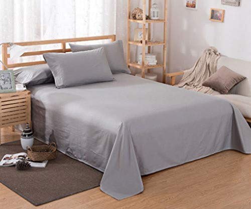 Luxury 1pcs Bed Sheet Bedding Super Soft Fade Resistant Hypoallergenic Comfortable Flat Fitted Sheets