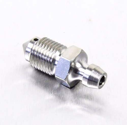 Stainless Steel Brake Caliper Bleed Screw//Nipple M7 x 1.00mm *4 Pack*
